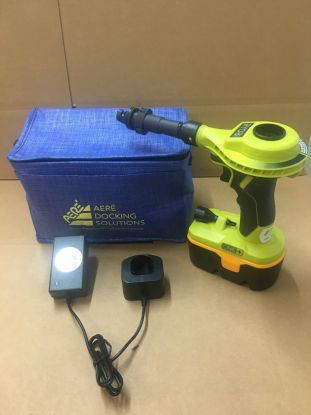 Ryobi 18 VDC Cordless Inflator with battery and storage bag